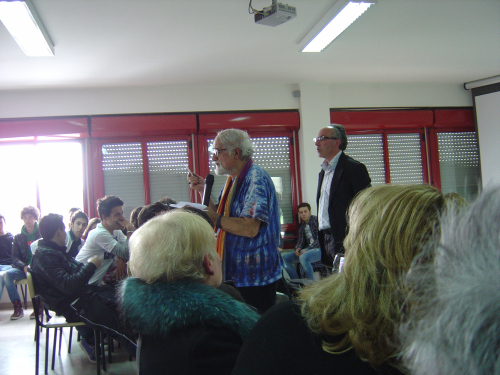 4 aprile 2011 Padre Alex Zanotelli a Venafro